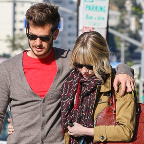 Cute Celebrity Couple Emma Stone & Andrew Garfield Together