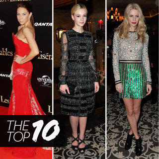 Top 10 Best Dressed Celebs: Poppy Delevingne, Carey Mulligan