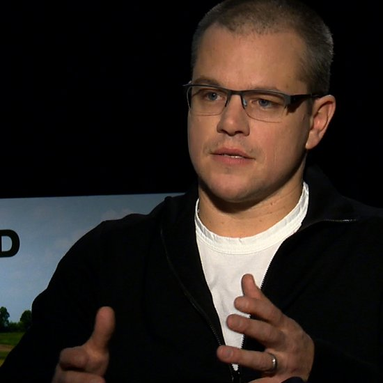 Matt Damon Interview For Promised Land