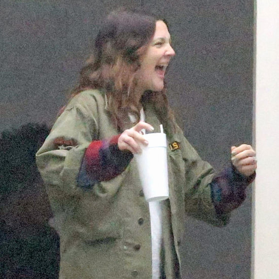 Drew Barrymore Visits a Studio in LA | Pictures