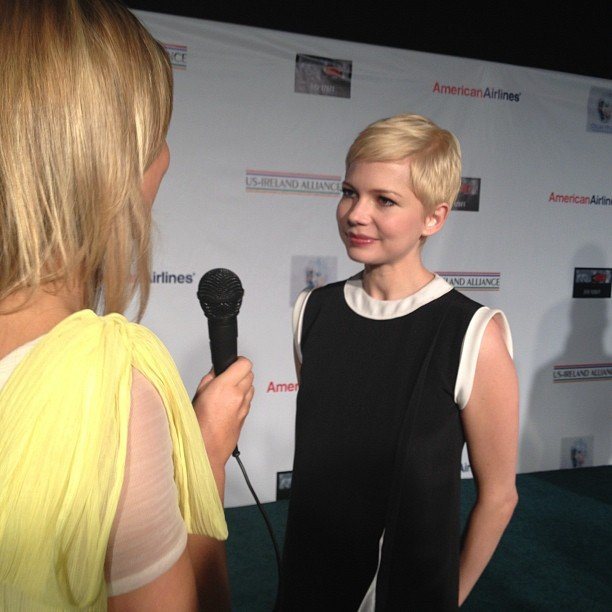We caught up with the lovely Michelle Williams at February's annual Irish in Film pre-Academy Awards event in Santa Monica, CA.