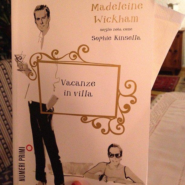 Instagram user maggiepaz picked up a copy of Vacanze in Villa.