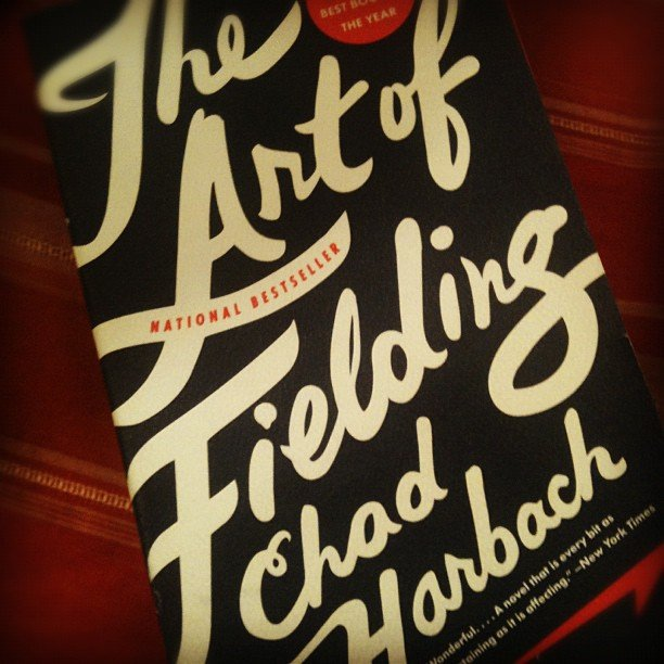 """Danny Feekes quotes The Art of Fielding: """". . . a soul isn't something a person is born with but something that must be built, by effort and error, study and love."""""""