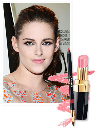 Found It! Kristen Stewart's Petal Pink Lip Color