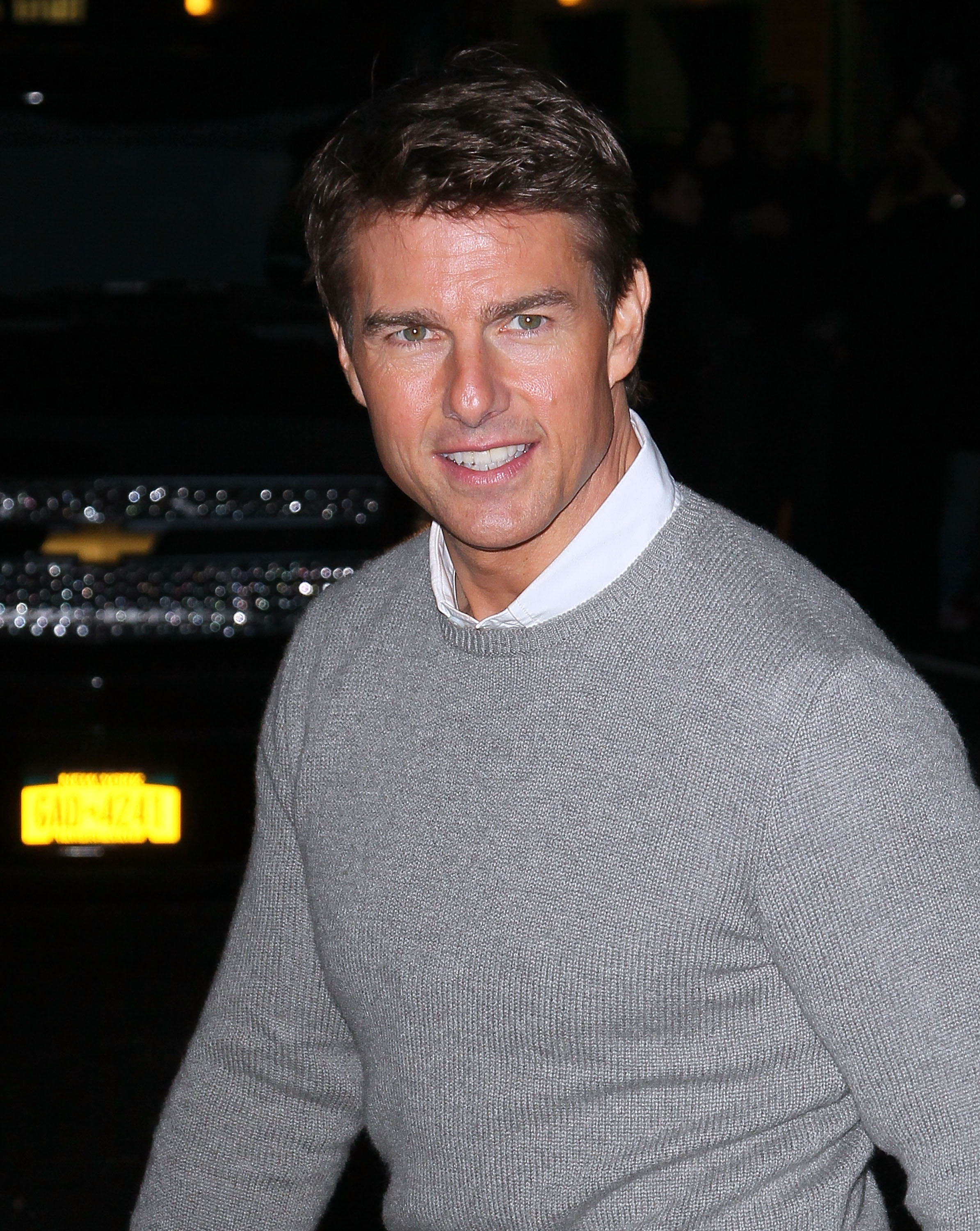 Tom Cruise was in NYC.