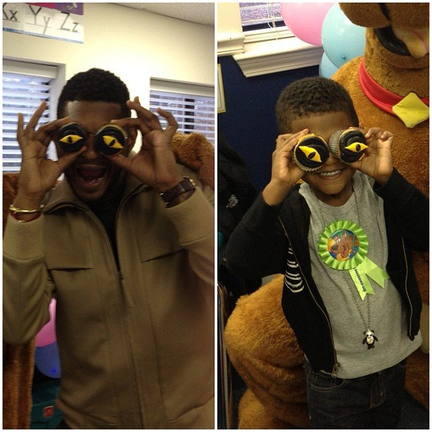 Usher threw a Scooby Doo-themed birthday party for his son Naviyd. Source: Instagram user howuseeit