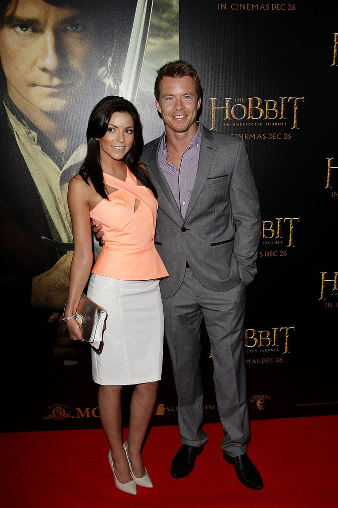 Kerryn Amyes and Todd Lasance