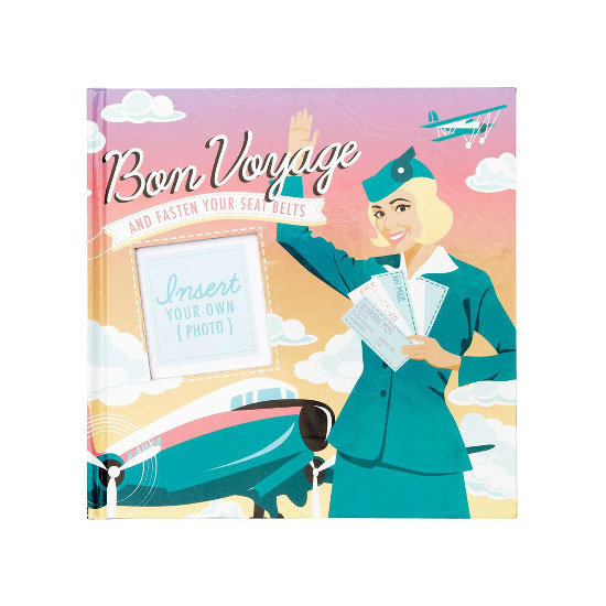 Travel scrapbook, $19.95, Sportsgirl