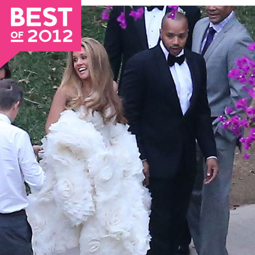 Celebrity Wedding Pictures 2012