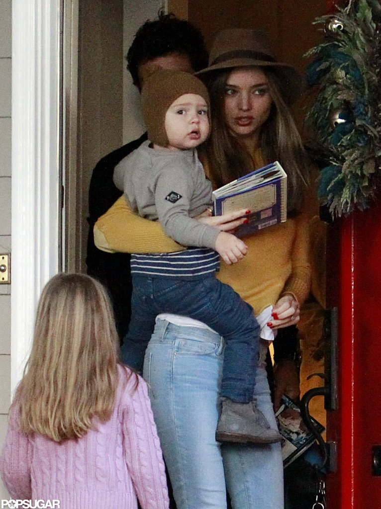 Orlando Bloom, Miranda Kerr, and Flynn Bloom spent the holidays together.