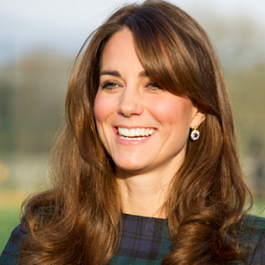 How to Get Kate Middleton Bangs