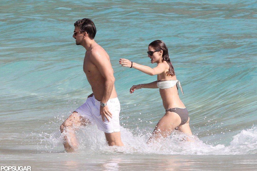 Olivia Palermo was in a bikini in St. Barts.