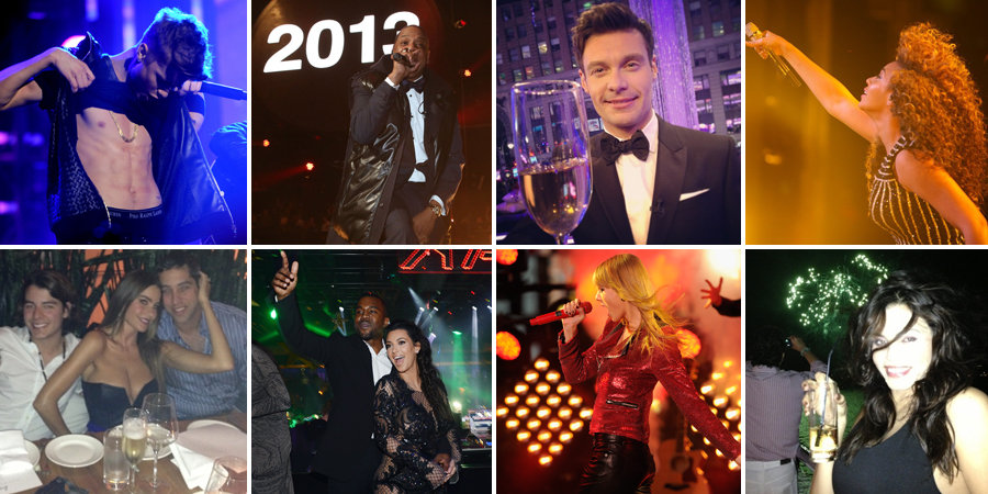 See How Stars Celebrated New Year's Eve!