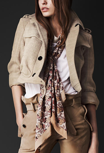 Isn't this Burberry seersucker cropped pilot jacket ($1,995) amazing? Yes, the price tag is majorly steep, but it's a classic cut and color you can wear for years.