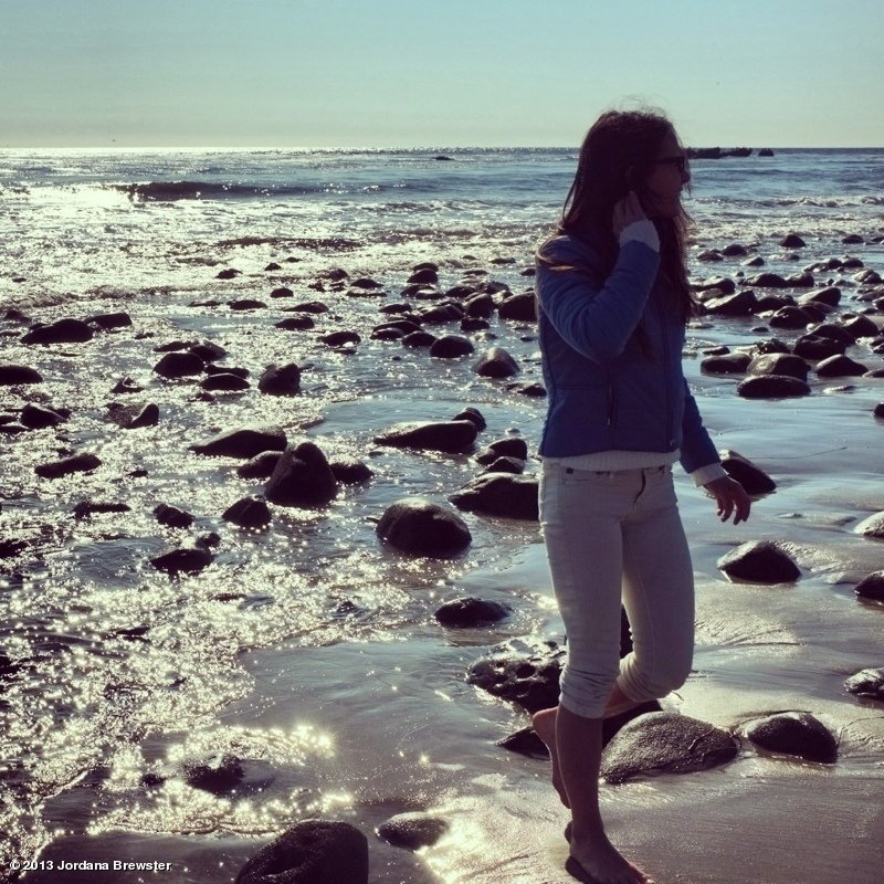 Jordana Brewster hit the beach. Source: Jordana Brewster on WhoSay