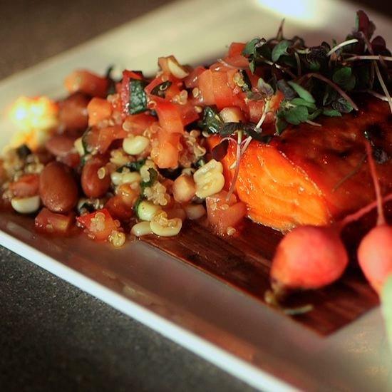 Chaya's Soy Glaze Salmon Recipe | Video
