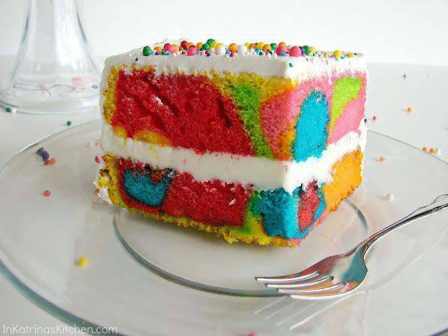 Taste the Rainbow Cake