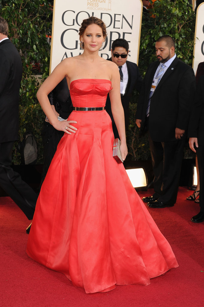 Jennifer Lawrence brought her wow factor to the 2013 red carpet.