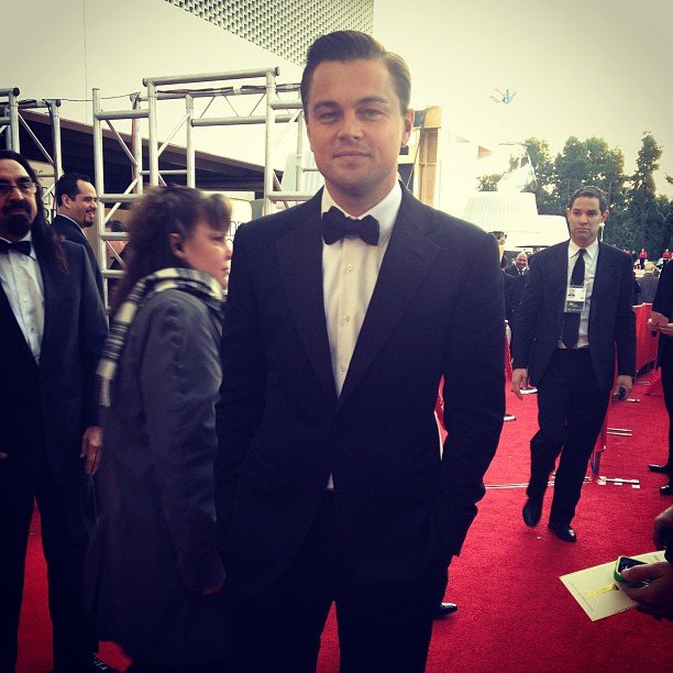 Leonardo DiCaprio looked incredibly dapper on the Golden Globes red carpet. Source: Instagram user goldenglobes