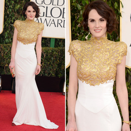 Michelle Dockery in Alexander Vaulthier 2013 Golden Globes