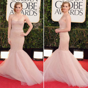 Pictures of Amy Adams in Marchesa at the 2013 Golden Globes