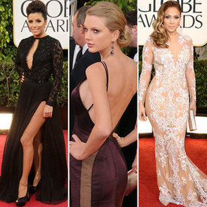 See the Sexiest Dress Details from the 2013 Golden Globes