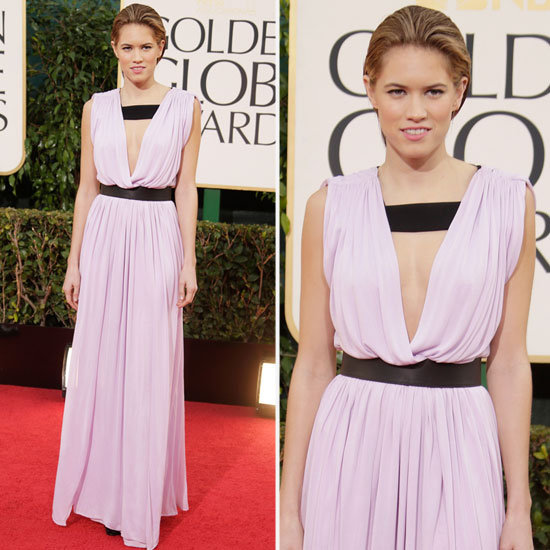 Cody Horn | Golden Globes Red Carpet Fashion 2013