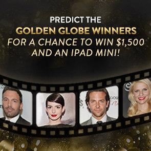 Golden Globes Ballot Giveaway