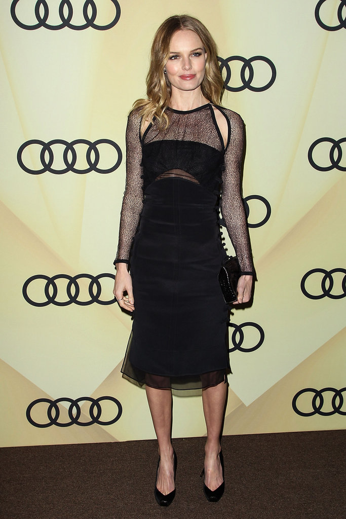 Kate Bosworth was out in LA to celebrate the Golden Globes.