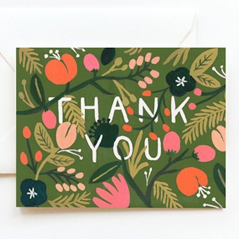 Thank-You Cards 2013