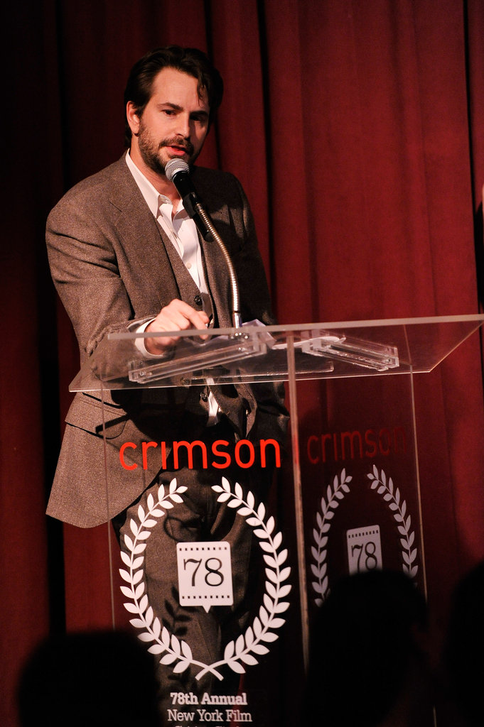 Mark Boal talked onstage.