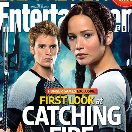 Catching Fire Entertainment Weekly Cover