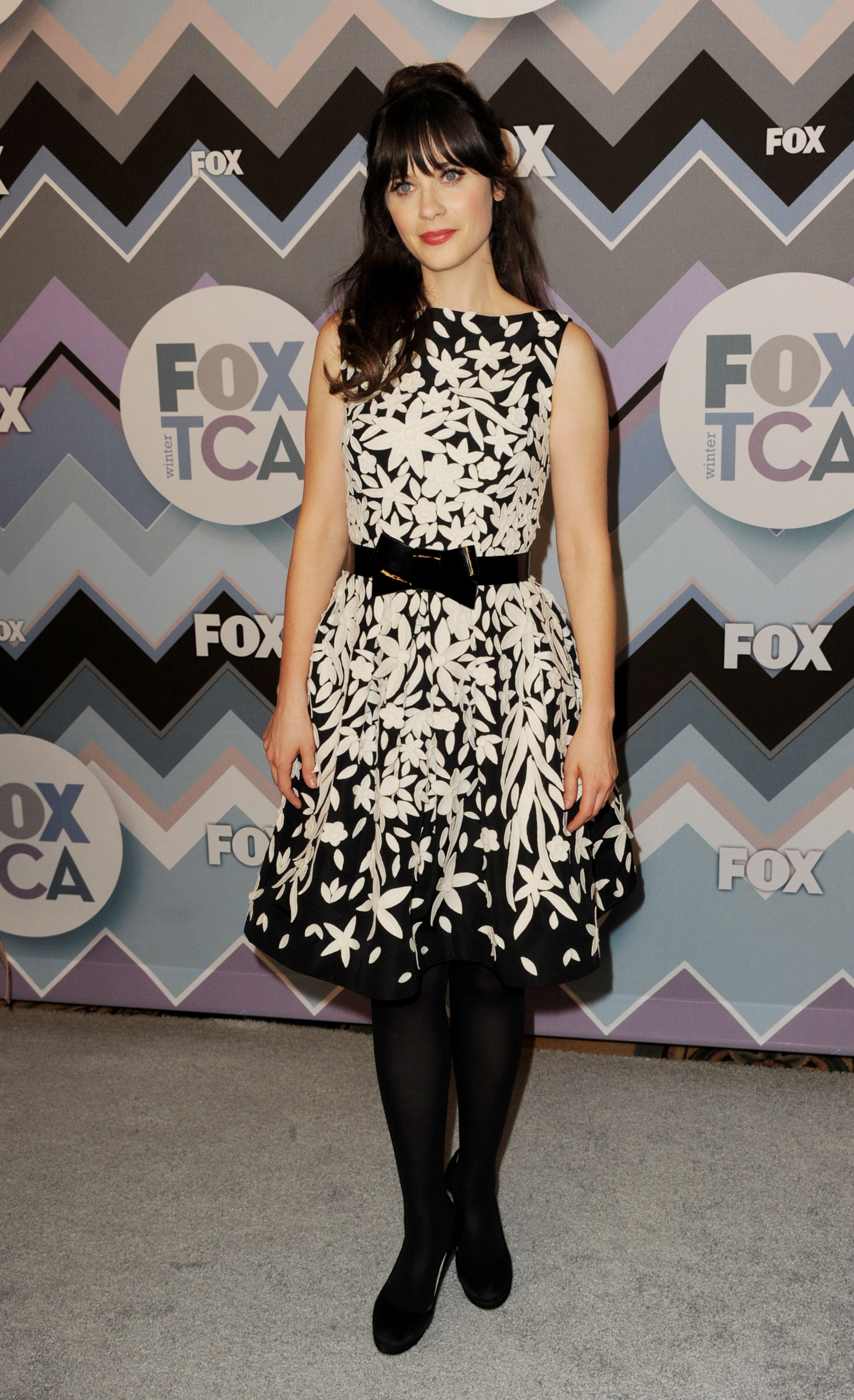 Lea Michele, Zooey Deschanel, and Mindy Kaling Shine at FOX's All-Star Party