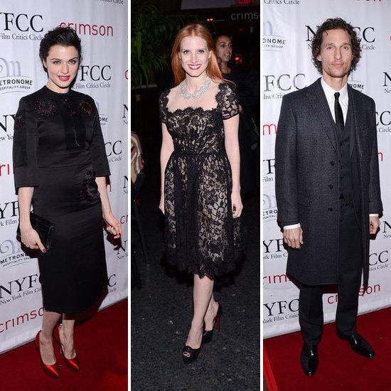 2013 New York Film Critics Circle Awards Celebrity Pictures