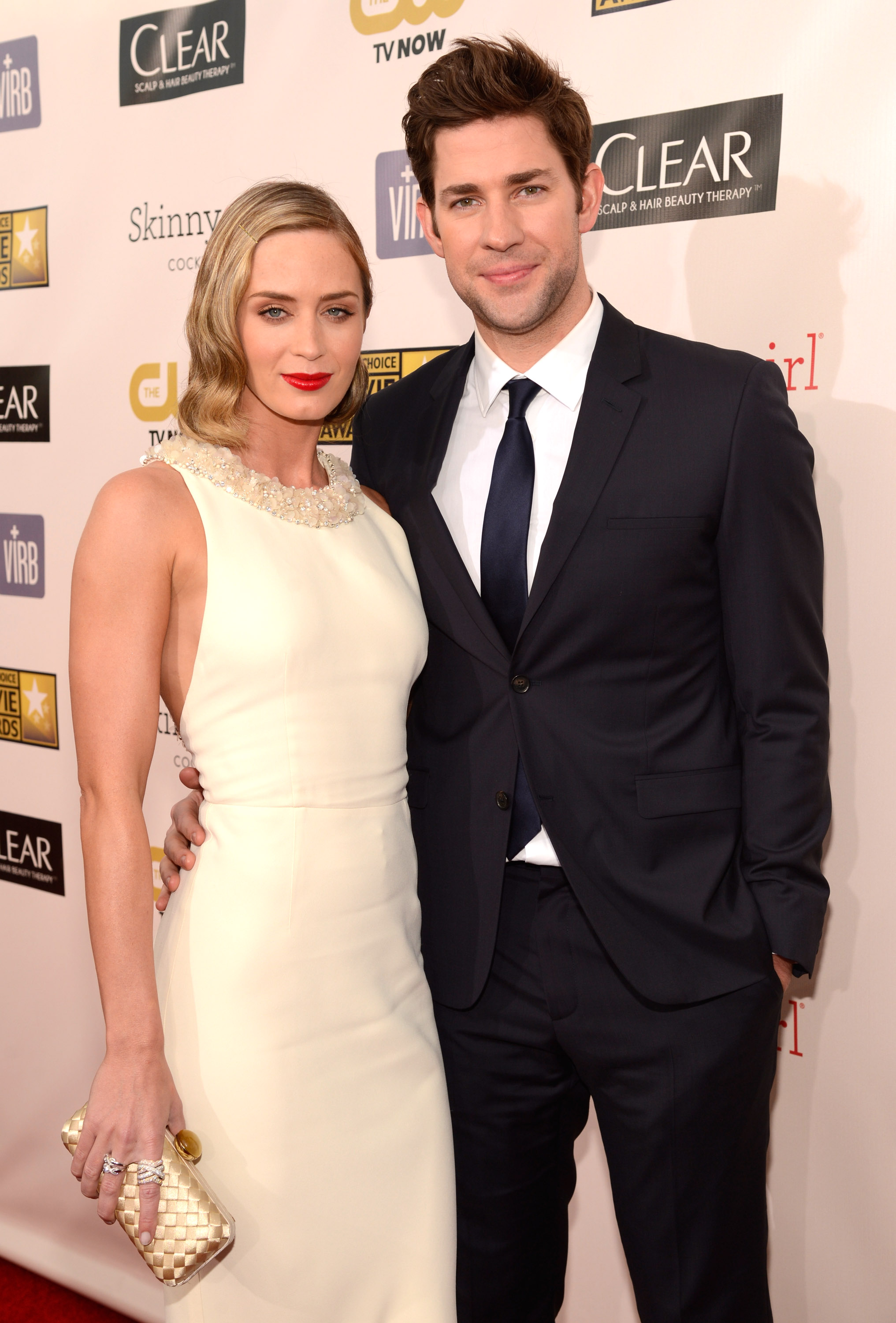 Emily Blunt and husband