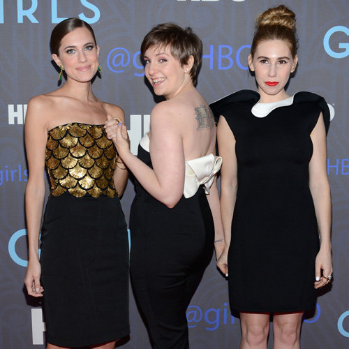Girls Season 2 Premiere Party Celebrity Pictures in NYC