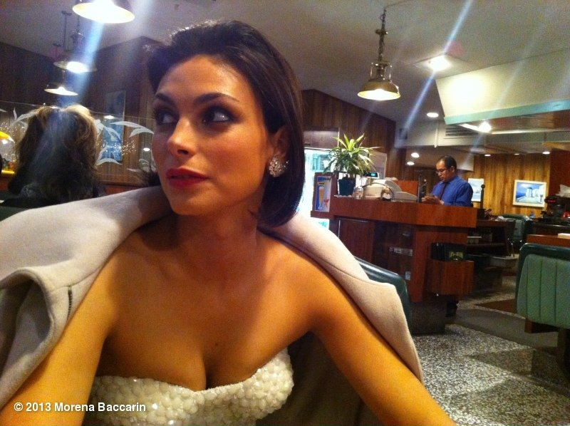Homeland's Morena Baccarin hit up a diner after the People's Choice Awards. Source: Morena Baccarin on WhoSay
