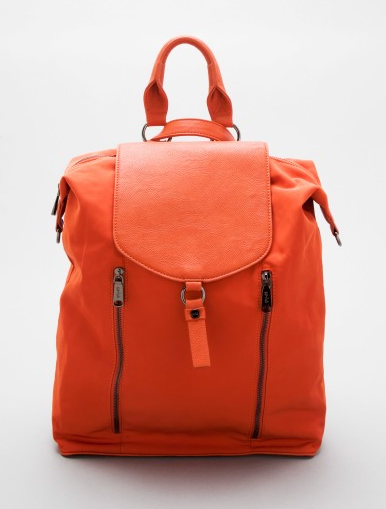 Christopher Kon's orange backpack ($89) is an effortless — and bold — way to carry all your essentials this year.