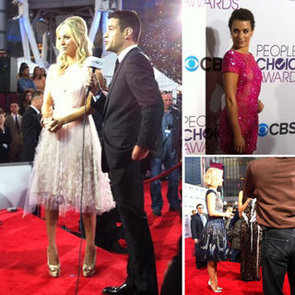 Celebrity Twitter Pictures At 2013 People's Choice Awards