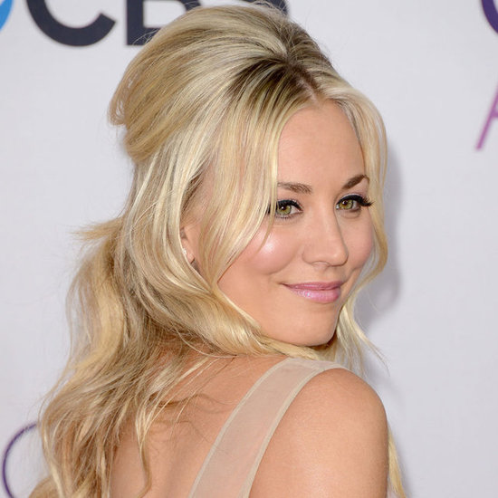 Pictures of Kaley Cuoco at the 2013 People's Choice Awards