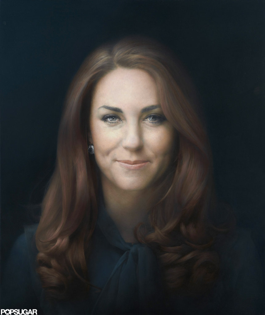 Kate Middleton's official portrait was released on Friday.