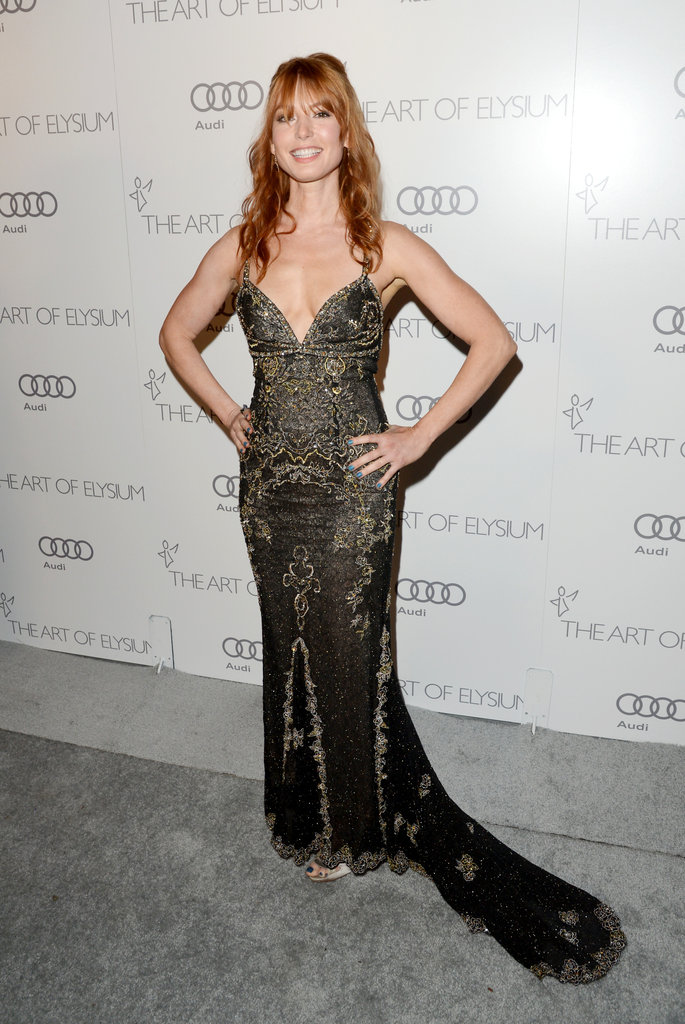 Alicia Witt attended The Art of Elysium's  sixth annual Heaven gala.
