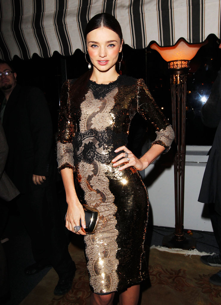 Sienna, Jennifer, Marion and More Toast the Globes With W Magazine