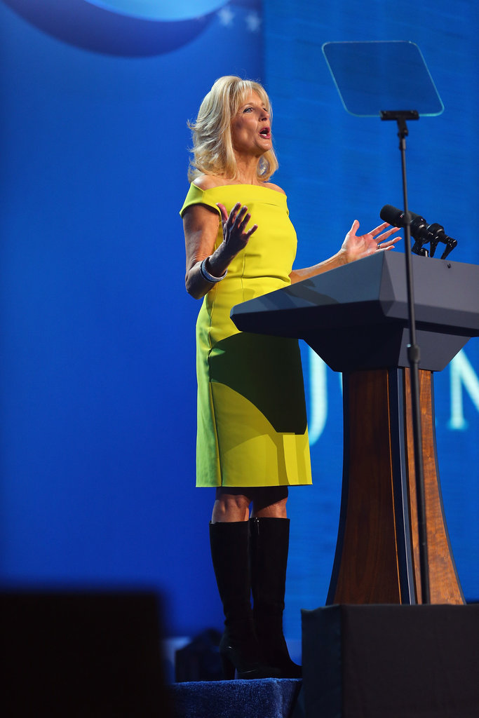 Jill Biden spoke at the Kids' Inaugural concert.