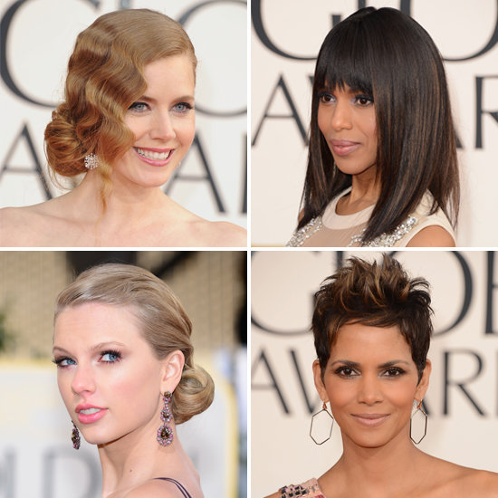 Golden Globes Beauty: See the Best Hair and Makeup From All Angles!