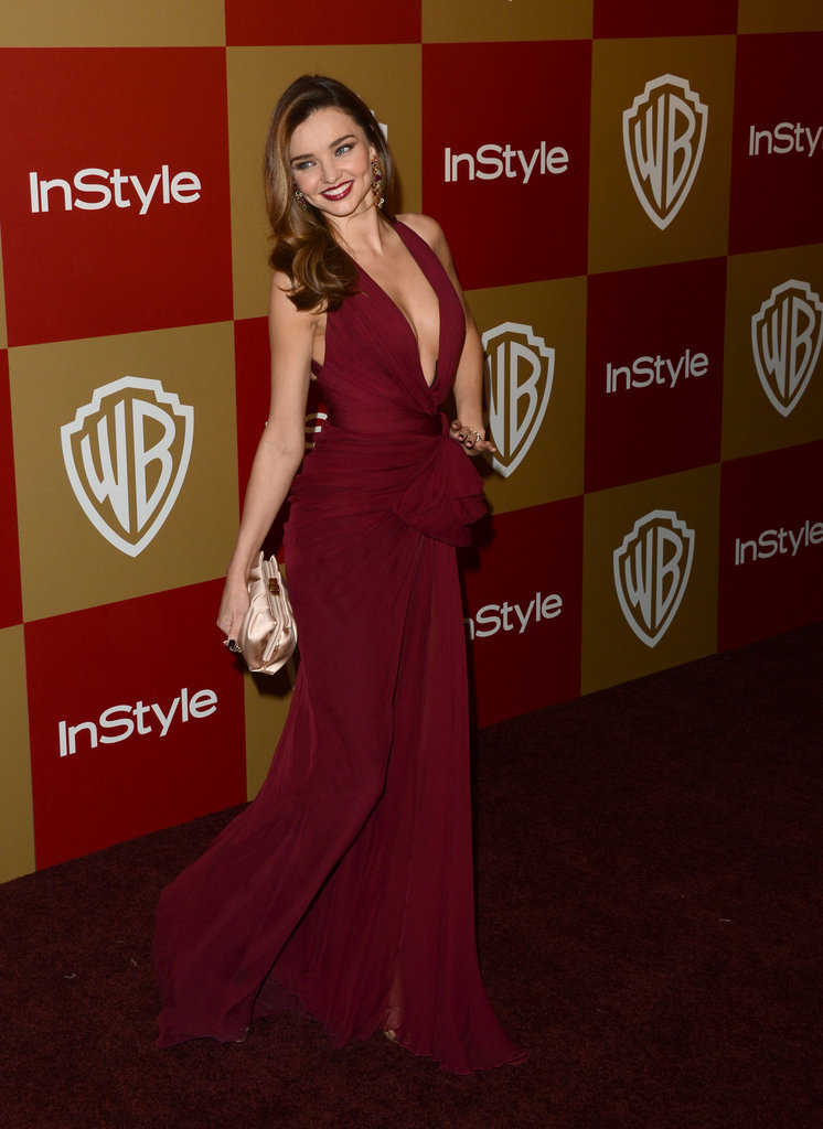 Miranda Kerr made her arrival at the party.
