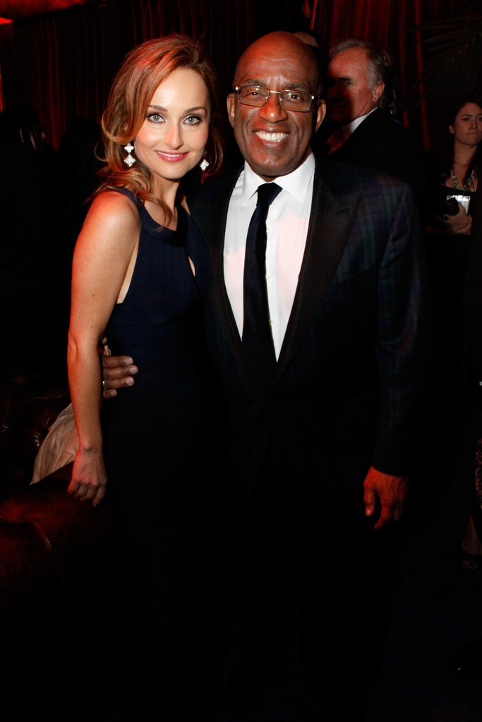 Al Roker and Giana De Laurentiis attended the Weinstein afterparty among other party pitstops.