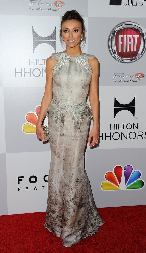 Giuliana Rancic arrived at the NBC afterparty.