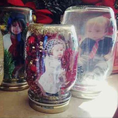 How to Make Picture Snow Globes