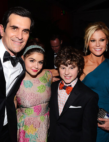 Ty Burrell, Ariel Winter, Nolan Gould and Julie Bowen